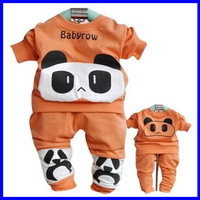 2013 baby boy clothing suits baby tops pants sets of children's leisure suits children's clothing for autumn free shipping DZ11