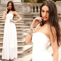 Free shipping 2014 new long evening dress women faorml  party evening elegant dress for wedding prom vestidos de festa  gowns