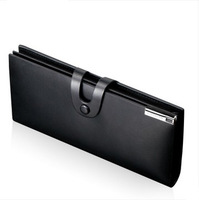 Genuine leather Wallet male long design male wallet commercial hasp leather purse