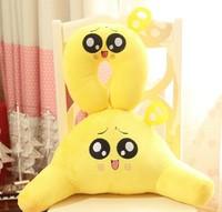 Christmas Gift Girlfriend Birthday Gift Office U Cushion Waist Pillow + Neck Pillow Plush Toy  Free Shipping XTY002