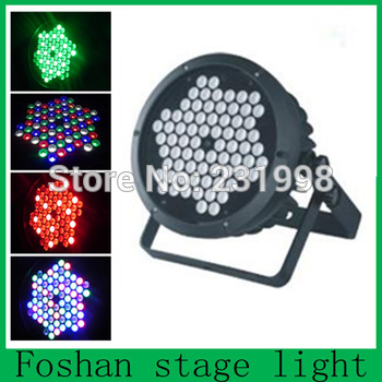 Free shipping,4pcs/Lot,Big power RGB led stage dj effect par can,led dmx flat par light,high qualit Stage lamps and lanterns