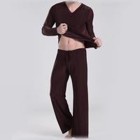 COCKCON ice silk pajamas tracksuit sports suit casual men's yoga clothing loose pajamas