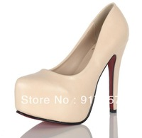 Free delivery , fashionable nightclubs high heel shoes, princess shoes, fish head high heels women pump shoes wild