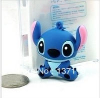 Stitch usb flash drive 8gb waterproof small accessories usb flash drive cartoon 8g hangings gift usb flash drive