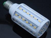HOT 18W 60LED 5730 SMD E27 110V/ 220V Corn Bulb Light Maize Lamp LED Light Bulb Lamp LED Lighting Warm/Cool White Free shipping