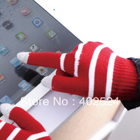 Free Shipping 10 Pairs/lot In winter to keep warm touch gloves for iphone for ipad capacitive touch screen gloves wholesale