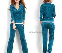 Free shipping !2014 Newest women sports clothing set lady brand active long sleeve coat+pants 2pcs casual sports sweatshirt