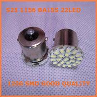 24V Car led lamp BA15S 1156  22 white led light