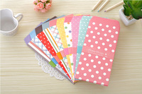 Letter Paper Gift Envelope Set Cute Heart Point Korean Stationery Wholesale G140  Free Shipping