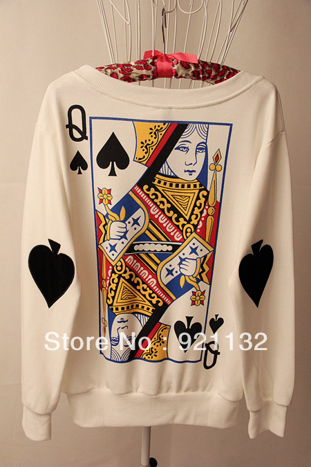 Poker Cards King Queen Street Poker Card Queen