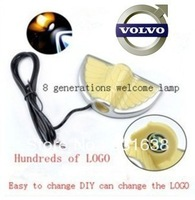 Free shipping Volvo Cars highlighting welcome light door lamp LED decorative lights