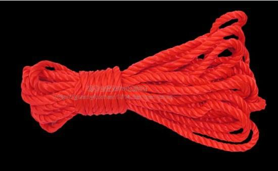 White rope plolicy hemp rope clothes line clothing(China (Mainland))