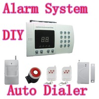 New Wireless PIR Home Security Burglar Alarm System Auto Dialing Dialer Easy DIY FRESHIPPING