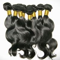 Hot selling free shipping Malaysian virgin remy hair extensions body wave bundles,4pcs mixed lot no shedding no lices