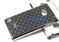 Chrome Hard Case Back Cover Mobile Phone Case for Nokia Lumia 720 free shipping