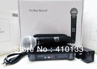 Free shipping handheld PG24 /PG58 Stage Performance Wireless Microphone System PG4