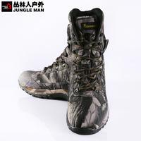 Camouflage browning light waterproof medium cut Men hiking camping hunting shoes s106 EURO Size:41 42 43 44 45 46