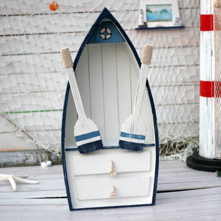 Storage storage boat cabinet white solid wood shelf storage cabinet storage cabinet with drawer(China (Mainland))