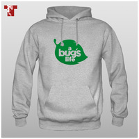 Apes6 bugs geeker 100% cotton fleece pullover sweatshirt  ,Free shipping