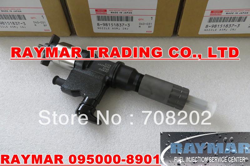 DENSO common rail injector 095000-8900 095000-8901 095000-8902 for ISUZU 8981518372(China (Mainland))