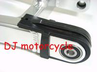 Dirt bike Chain Slider for honda dirt bike XR50 70   Mini motorcross swing arm accessories  Pit bike Chain runner slider
