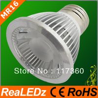 Wholesale price 38degree beam angle free shipping 10pcs/lot  WW MR16 E27  5W LED bulb light
