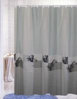Faucet terylene fabric waterproof shower curtain simple european 180