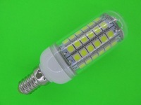 NEW HOT E14 220V-240V/AC 69  5050 SMD LED Lamp 5W 6W 7W 9W 12W LED Corn Bulb Cold white / Warm White 360 Degree Light Bulb Lamp