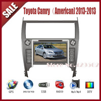 Toyota Camry American 2013-2013 touch screen radio car dvd player with GPS IPOD TV AM/FM Bluetooth with free map