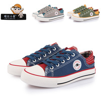 Children shoes child canvas shoes classic series velcro cool free shipping brand designer childern canvas shoes