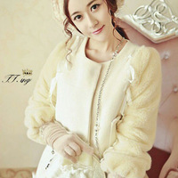 2013 Jingjing same paragraph wool coat ladies small fragrant wind aristocratic temperament woolen jacket coat it