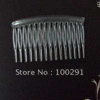 DDF-Free ship!!! 300pcs/lot Clear plastic hair comb high density teeth (Transparent) 80x45mm