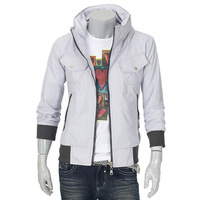 Wholesale Genuine Men Men's Pure Slim Short Jacket men's fashion casual jacket collar jacket