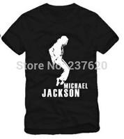 Free shipping 2014 kids tshirt michael jackson design C printed t shirt dance tops 100% cotton size 90/100/110/120/130/140/150cm
