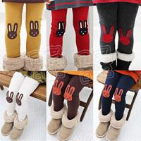 2013 autumn bugs bunny girls clothing baby child legging long trousers kz-1323