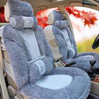 Car seat cushion winter plush cushion autumn and winter cushion four seasons general auto supplies