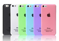 Free Shipping Ultrathin Transparent Phone Cover Case for iPhone 5c