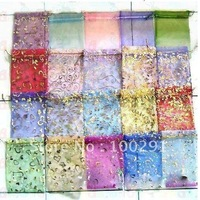 16*22cm Jewelry Organza Gift bags wedding candy bags