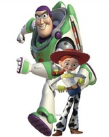 Free shipping ,toy story wall sticker