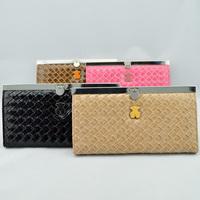 Long design women's hasp wallet fashion 2013 card holder Free shipping