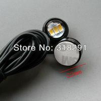 new type 5630 smd  12V car led reversing light eagle eye lamp Backup Stop Tail daytime running light White Color 2pcs