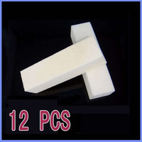 12x Buffer Buffing Sanding Files Block Acrylic Nail Art Tips Manicure Tool White[99186]