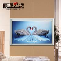 Free shipping, Diamond painting 3d diamond rhinestone pasted painting cross rhinestone pasted square drill