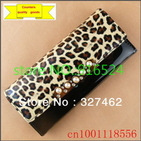 Hot Selling The New PU Wallets, Fashion Bag, Leopard Purse, Ladies Bags, Long Wallet, Purse D101 + Free Shipping