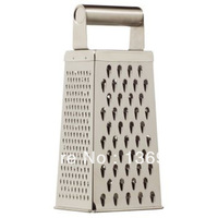 4-Sided Stainless Steel Free Shipping Wholesales Retail Fruit Shredder Slicers Vegetable Grater