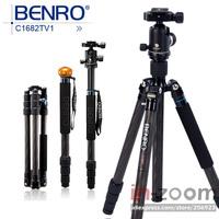 New Benro C1682TV1 Carbon Tripod Monopod V Series Ball Head Travel Angel Kit *Free shipping
