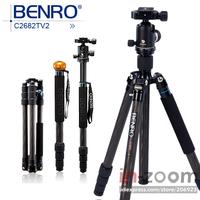 New Benro C2682TV2 Carbon Tripod Monopod V Series Ball Head Travel Angel Kit *Free shipping