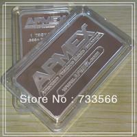 American Precious Metals Exchange!! DHL/FEDEX Free shipping 50pcs/lot APMEX 1oz Brass plated silver bullion