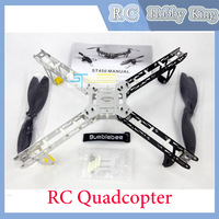 ST 450 Metal Four Rotor Quadcopter Remote Control RC Multicopter Frame Aircraft rc helicopter toy Drop shipping 2013 new
