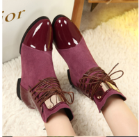 2013 single genuine leather metal endurably princess pointed toe boots women's winter shoes fashion womens boots genuine leather